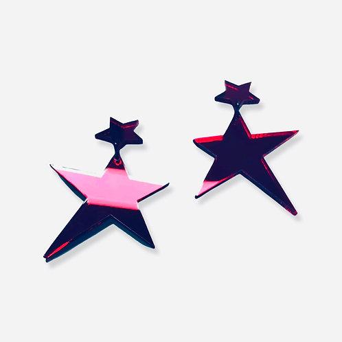 "boucles d'oreilles ""like a star"""