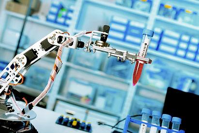 Asistente de laboratorio robótico