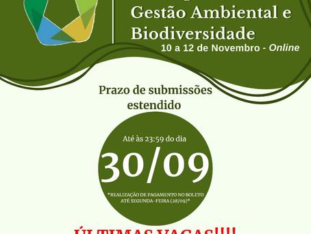 9º Simpósio de Gestão Ambiental e Biodiversidade
