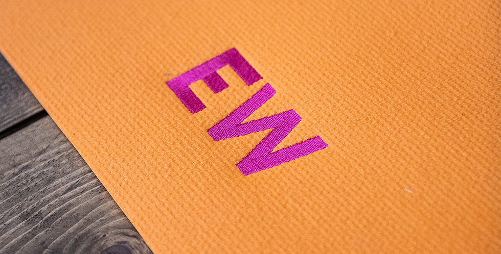 Saffron Orange Mat