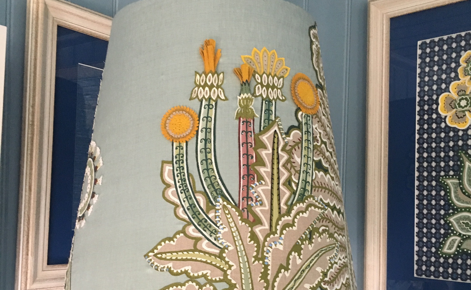 Jane Churchill Sping Lampshade