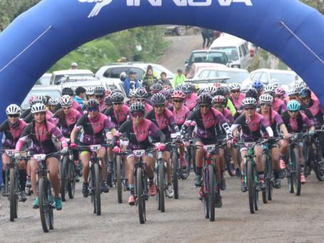 Mujeres demuestran su pasión por la bicicleta (Artículo de diario El Mercurio)