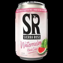 Sierra Rose Watermelon Hard Cider Can