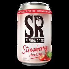 Sierra Rose Strawberry Hard Cider Can