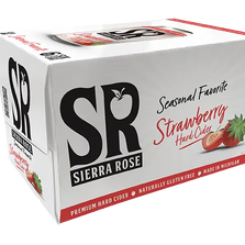 Sierra Rose Strawberry Hard Cider 6 Pack