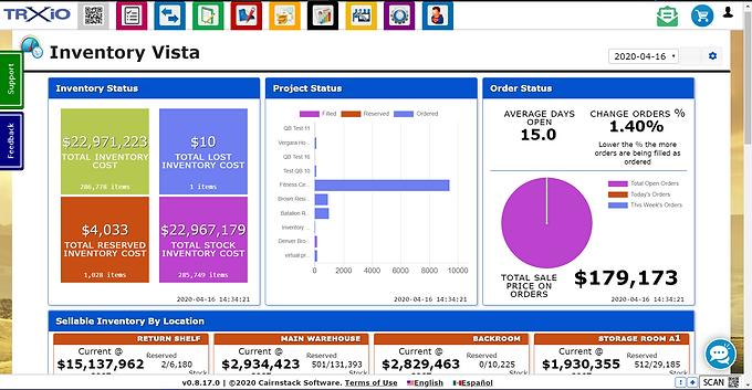 "TRXio's ""Inventory Vista"" Provides Snapshot of Data"