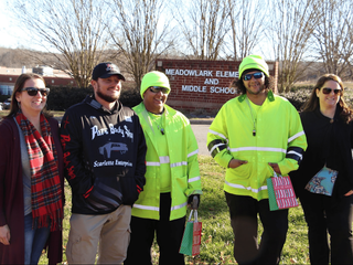 A Touching Gift for the Crossing Guards at Meadowlark