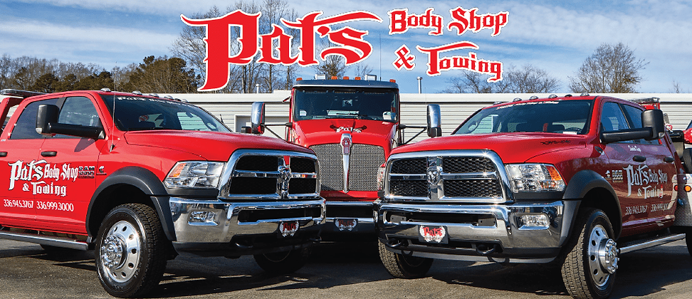 Pats Body Shop and Towing Masthead Photo