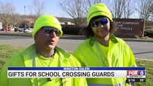 Meadowlark schools in Winston-Salem share Christmas spirit with crossing guards