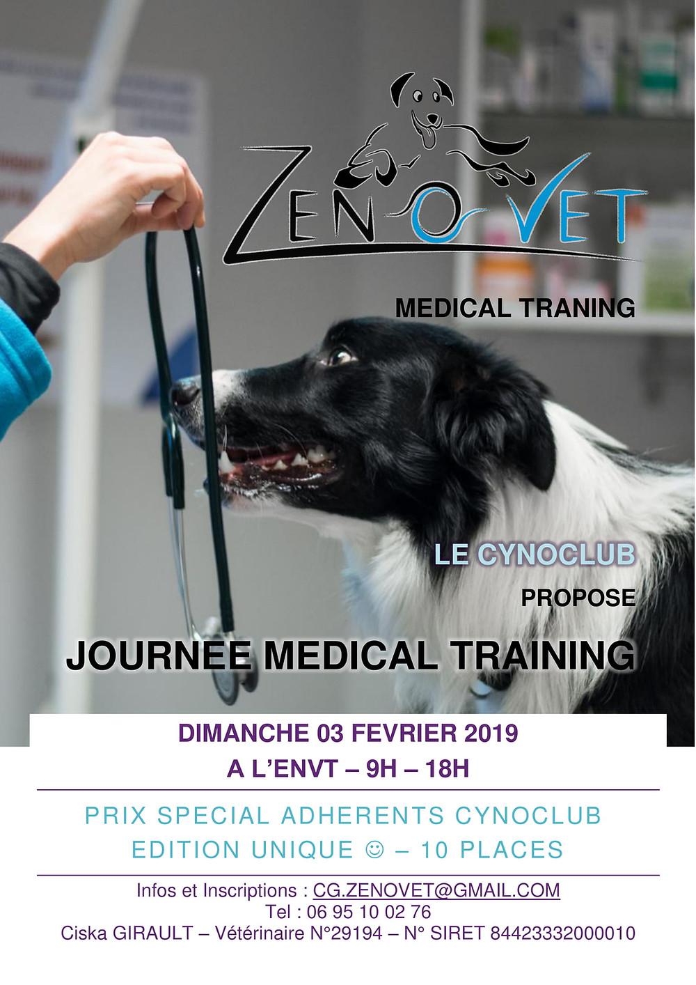 Formation initiation medical training ENVT vétérinaires