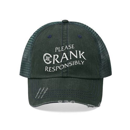Please CRANK Responsibly Trucker Hat