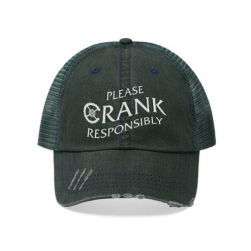 Please CRANK Responsibly Trucker Hat