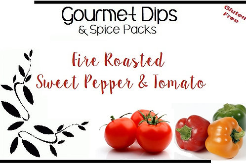 FIRE ROASTED SWEET PEPPER & TOMATO