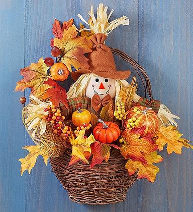 Fall Scarecrow Basket