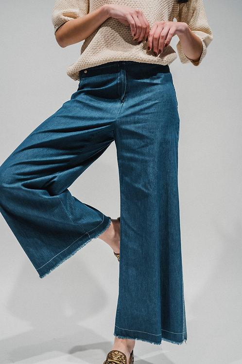 Pantaloni chambray