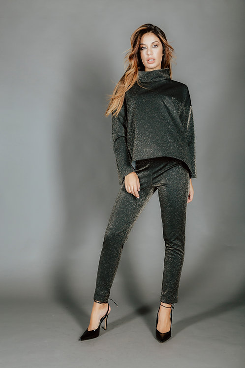 Pantalone lurex