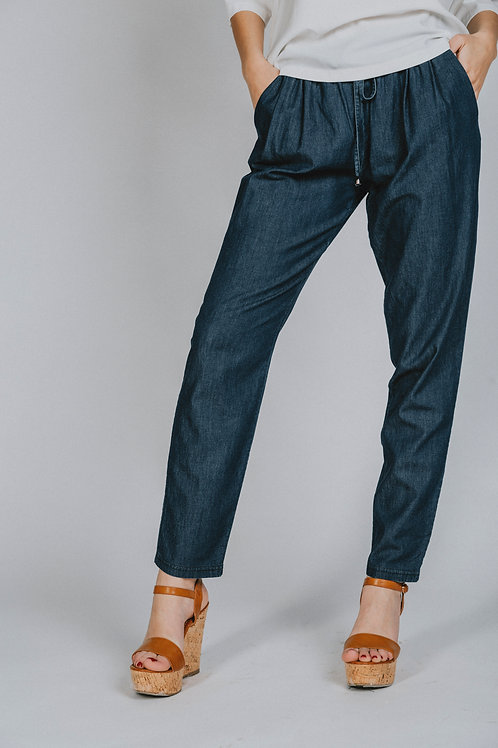 Jeans con coulisse