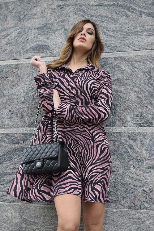 Vestito zebrato