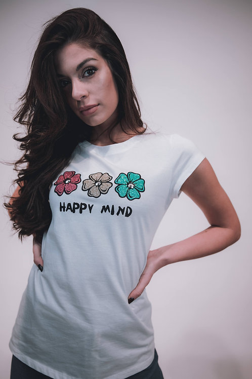 T-shirt happy mind
