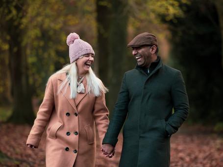 Pre-wedding Photoshoot at Horsham Park, Sussex
