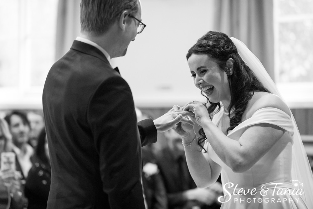 Queen's Hall Cuckfield wedding photography