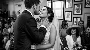 Marie & Fionn's wedding at The Beacon