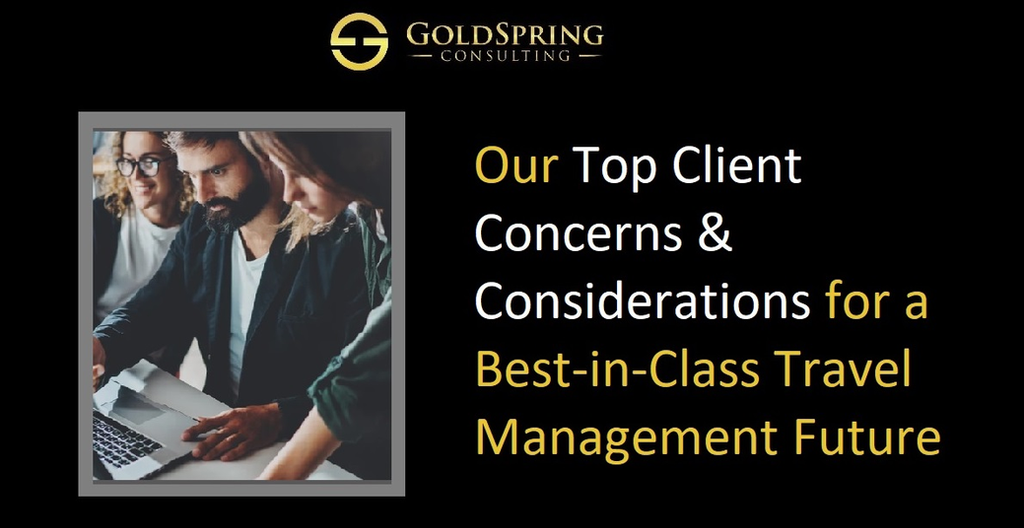Business Travel & Meetings Consulting | GoldSpring Consulting