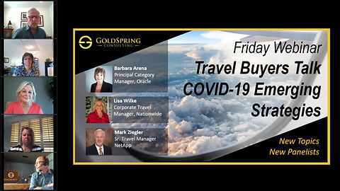 GoldSpring Consulting - Travel Buyers Talk COVID -19 - April 10, 2020