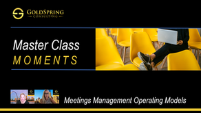 Master Class Moments - Meetings Management Operating Models