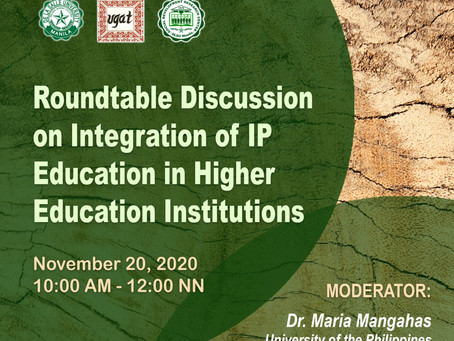 Roundtable Discussion on Integration of IP Education in Higher Education Institutions