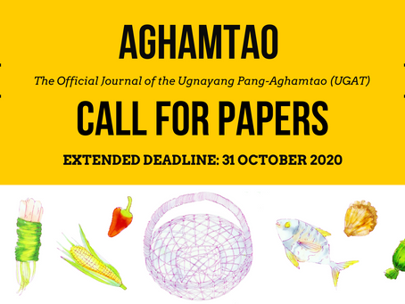 Extended Deadline: Aghamtao Journal Call for Papers