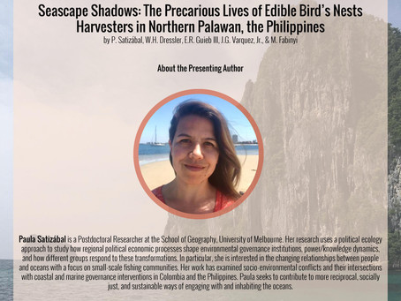 Seascape Shadows: The Precarious Lives of Edible Bird's Nests Harvesters in Northern Palawan