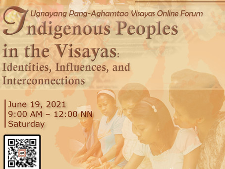 Indigenous Peoples in the Visayas: Identities, Influences, and Interconnections