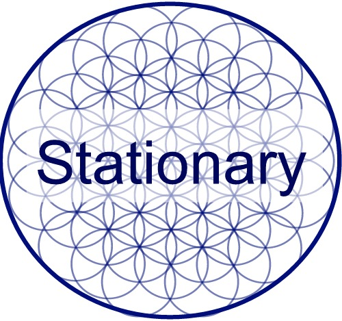 Stationary logo