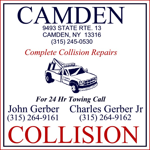 SIGN Camden Collision
