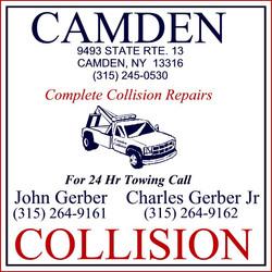 SIGN Camden Collision
