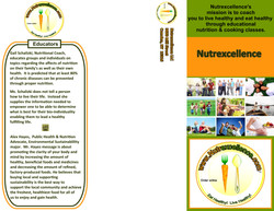 BROCHURE nutrition Nutrexcellence