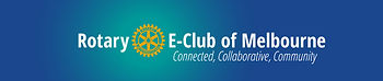 Rotary E-Club of Melbourne Logo