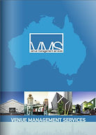 Brochure Venue Management Services, consulting, venue and facility management and marketing, cafe and bar operation