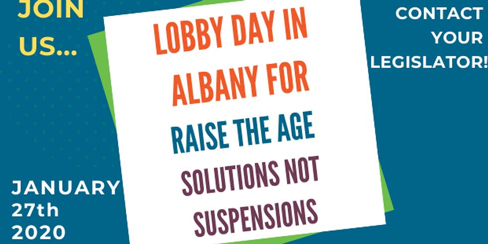 RTA Lobby Day in Albany - Jan 27, 2020