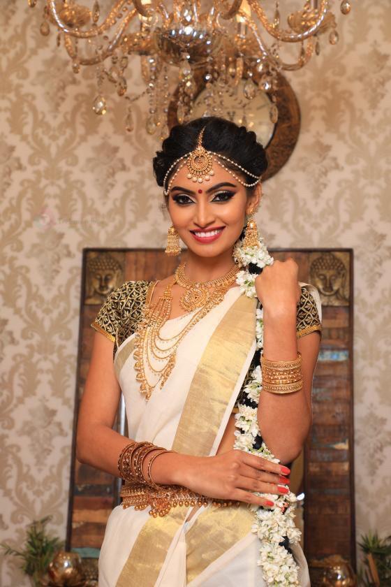 Shama Taj saree Photo