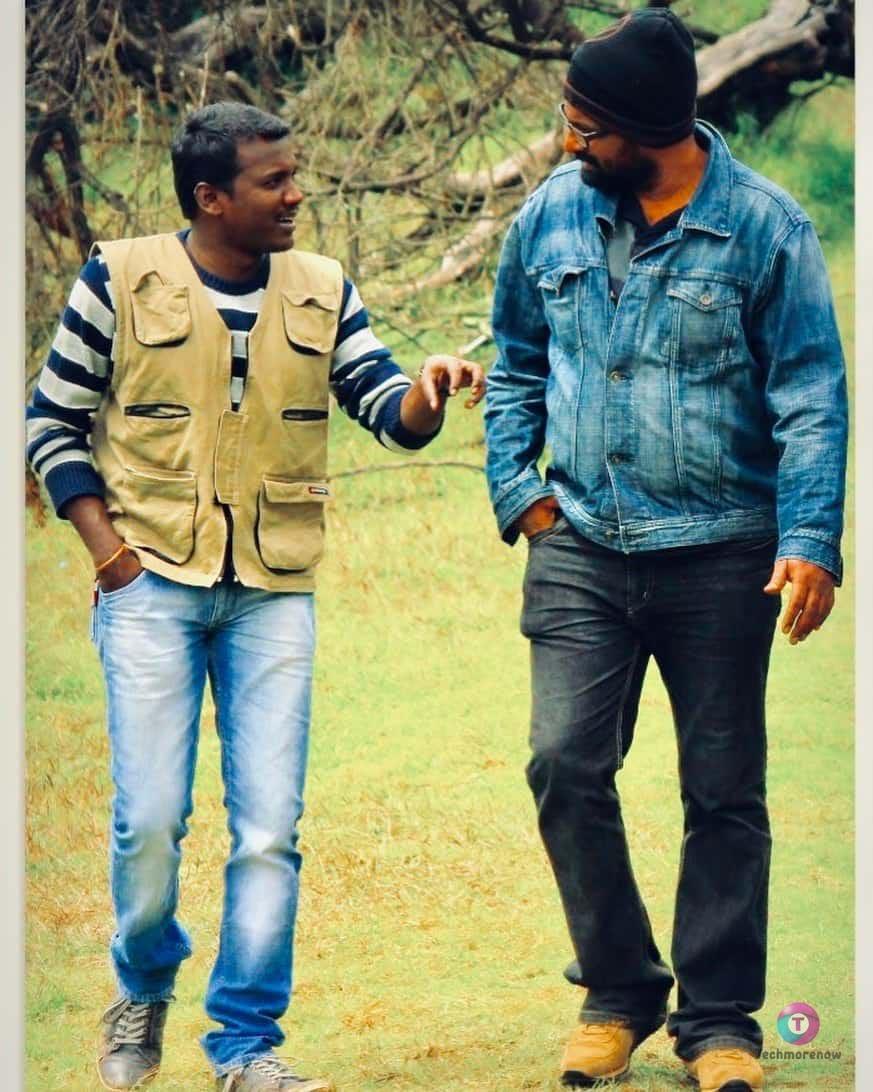 Mari Selvaraj and Director Ram