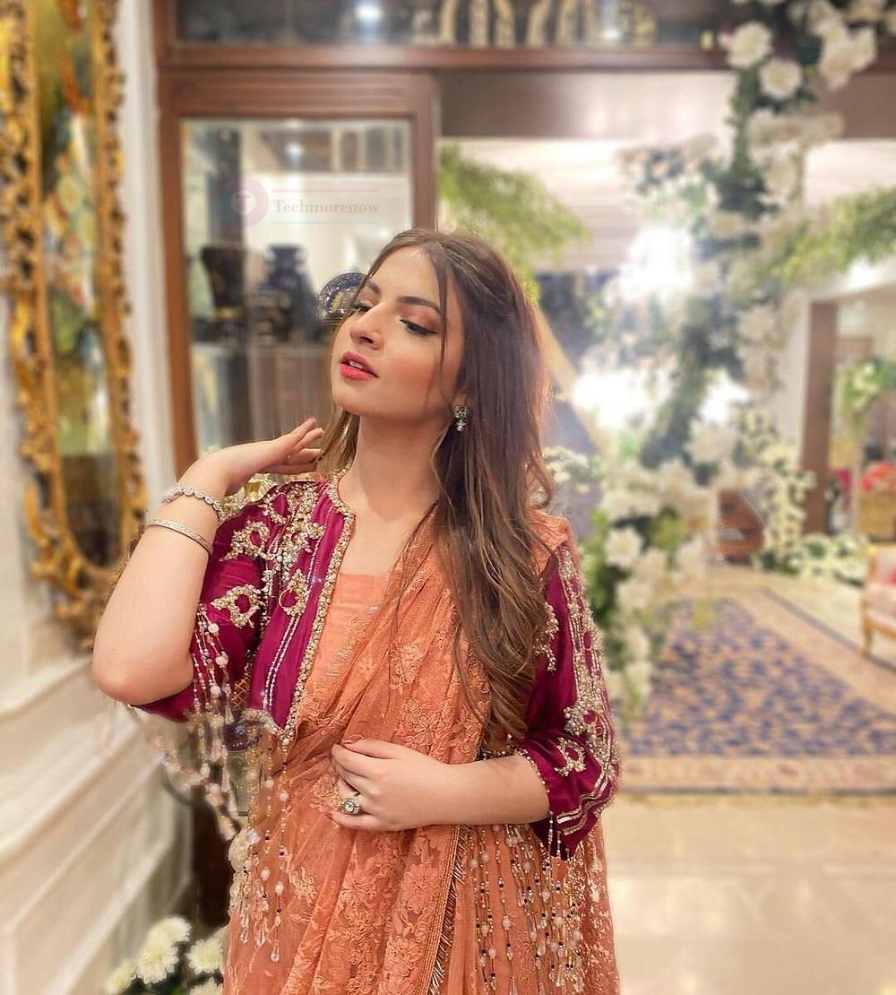 dananeer mobeen in Saree Image