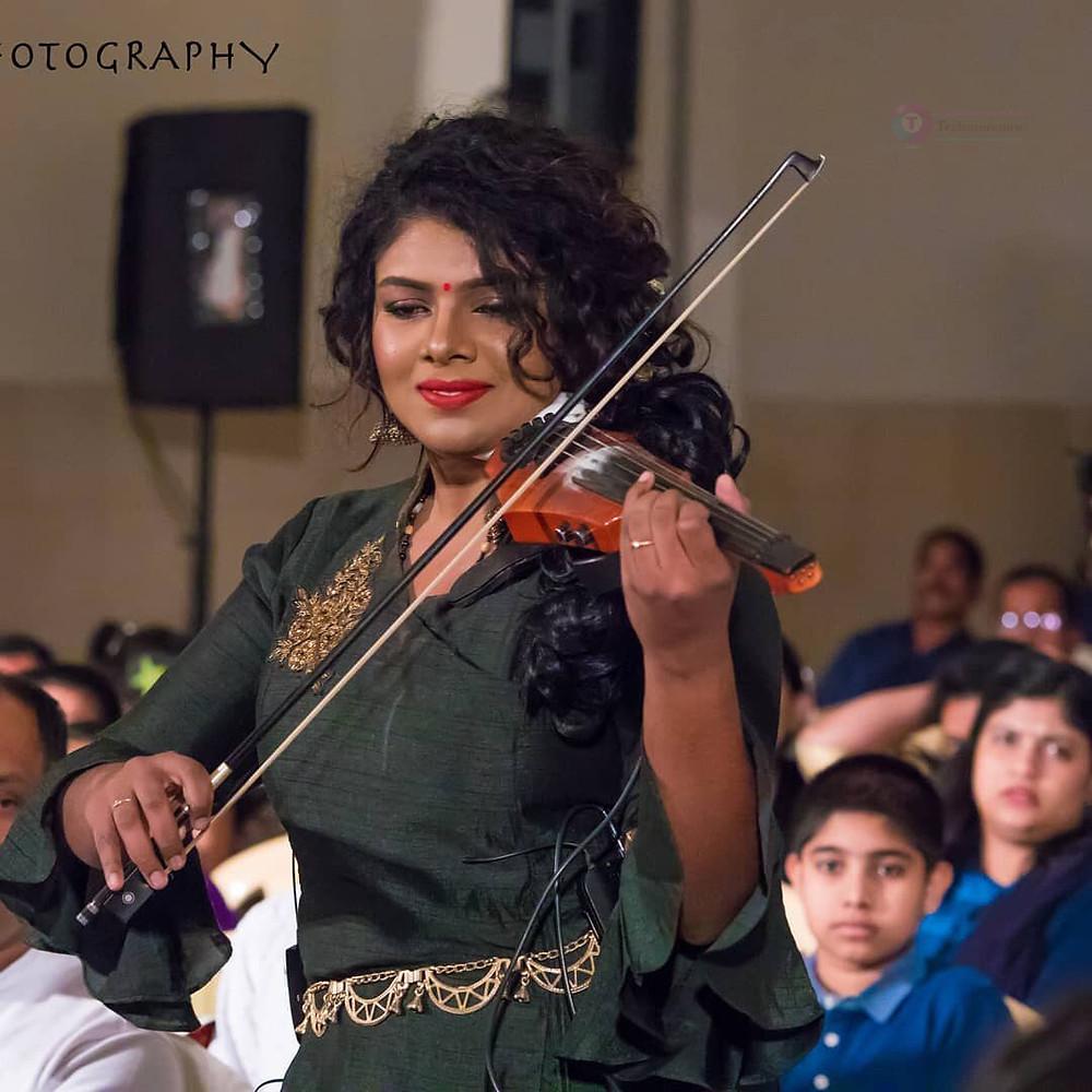 Lekshmi Jayan Violinist, Singer