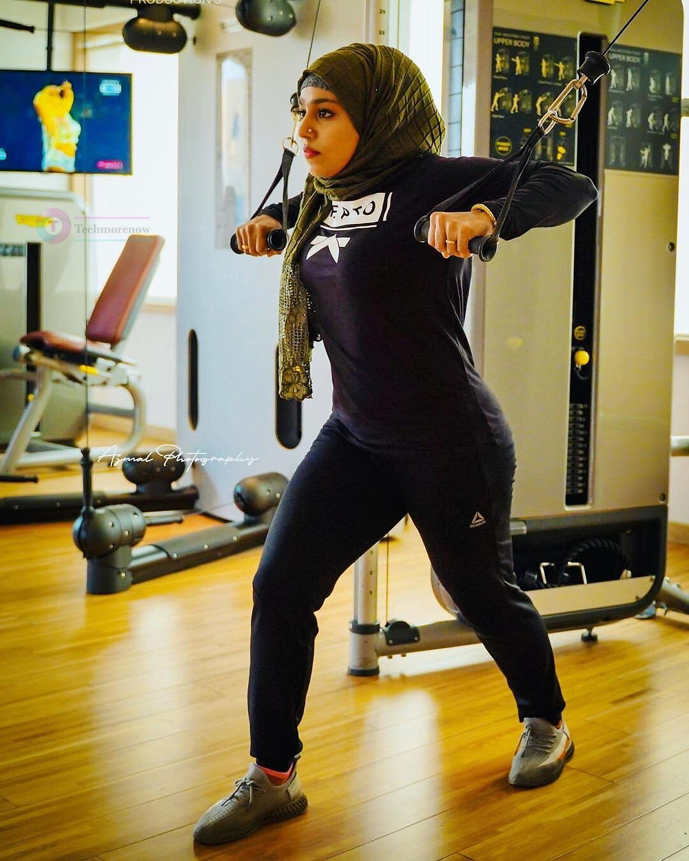 Majiziya Bhanu Gym Workout Image