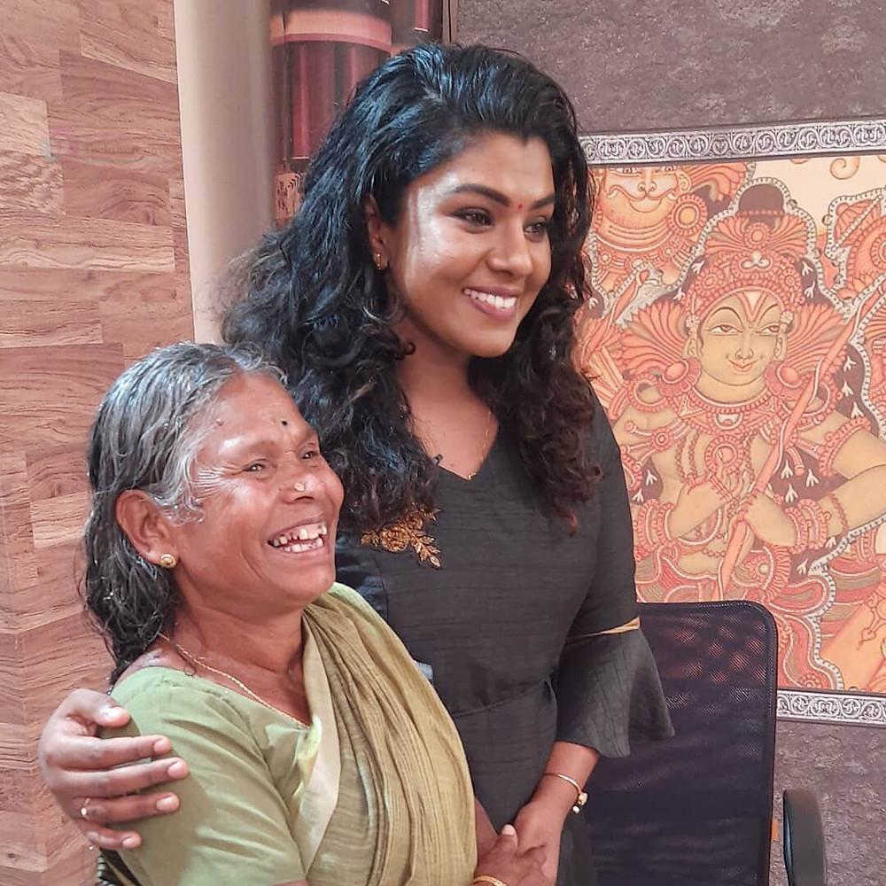 Lekshmi Jayan Mother, Family Image