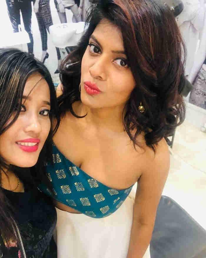 Swagatha Krishnan Sister