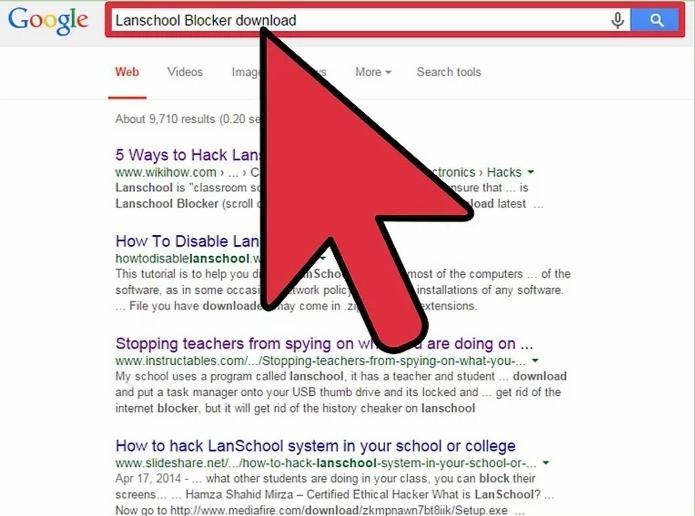 How to hack lanschool