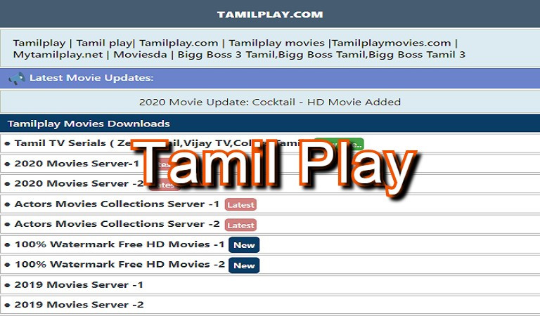 TamilPlay Free HD Movie Download