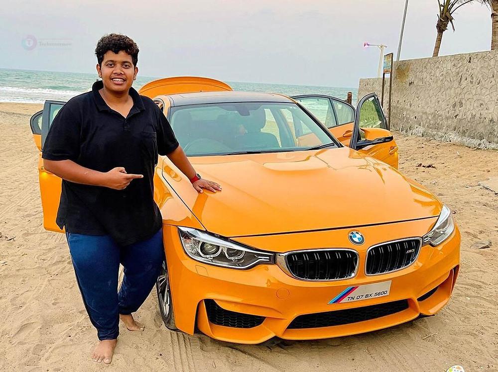 Irfan BMW car- Irfan's view
